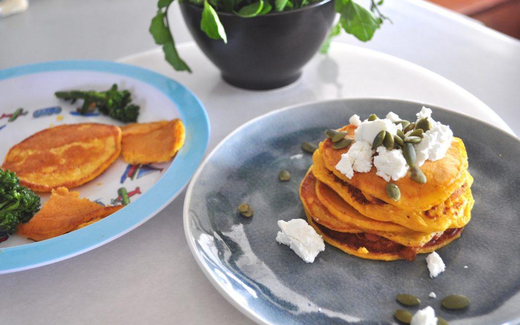 Savoury Pumpkin Pancakes