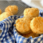 bowl of cheese scones