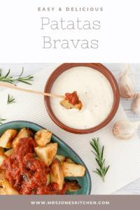 easy and healthy patatas bravas
