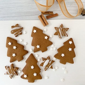 gingerbread Christmas Trees and Stars
