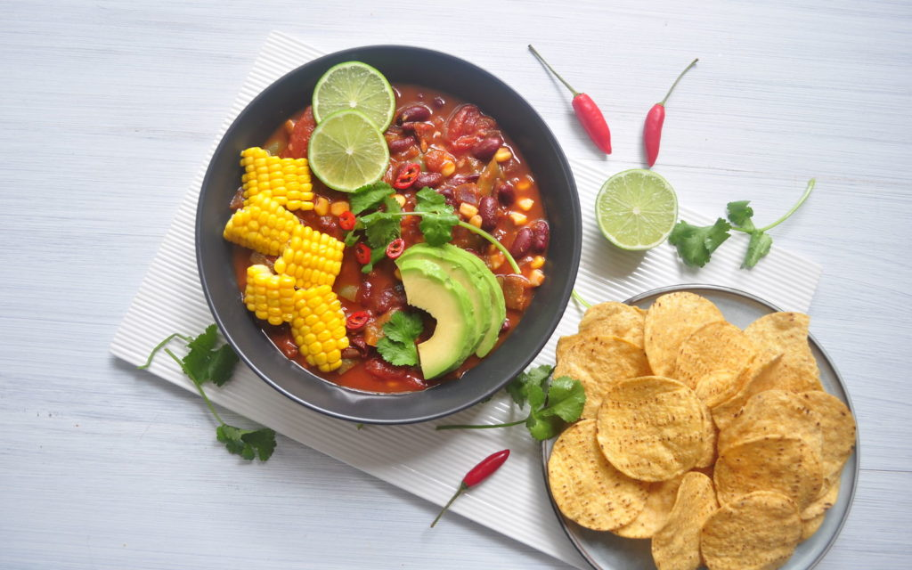 Easy Mexican Bean Chilli
