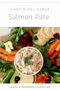 healthy smoked salmon pate with credit