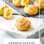 French cheese puffs pin