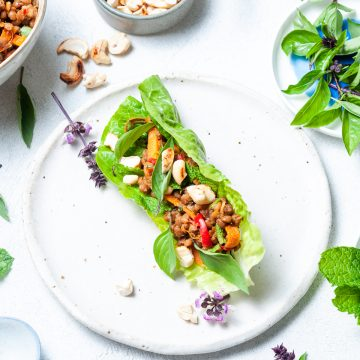Thai Lettuce Cups cover image